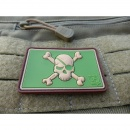 JTG - Pirate Skull Patch, multicam / JTG 3D Rubber patch