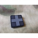 JTG - RedCross Medic Patch 25mm, blackops / 3D Rubber patch