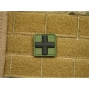 JTG - RedCross Medic Patch 25mm, forest / 3D Rubber patch