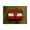 JTG - Österreich Flagge - Patch, fullcolor / 3D Rubber patch