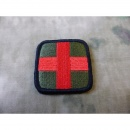 JTG  Special -  Red Cross Patch, rot/olive