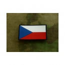 JTG - Tschechische Republik Flagge - Patch, fullcolor /...