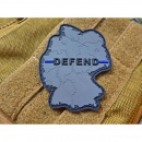 JTG  DEFEND GERMANY Patch, Thin Blue Line, special...