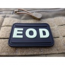JTG - EOD Patch, gid (glow in the dark) / 3D Rubber patch