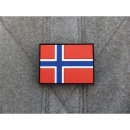 JTG - Norwegen Flagge - Patch / 3D Rubber patch