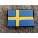 JTG - Schweden Flagge - Patch / 3D Rubber patch