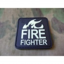 JTG - FireFighter Patch, gid (glow in the dark) / 3D...