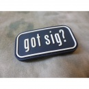 JTG - got sig Patch / 3D Rubber patch
