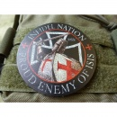 JTG  INFIDEL NATION  Patch, fullcolor