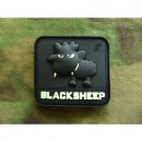 JTG - Little BlackSheep Patch, gid (glow in the dark) /...