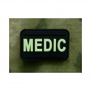 JTG - Medic Patch, gid (glow in the dark) / 3D Rubber patch