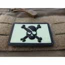 JTG - Pirate Skull Patch, blackghost-gid (glow in the...