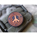 JTG - Peace Patch, orange / 3D Rubber patch
