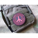 JTG - Peace Patch, red / 3D Rubber patch