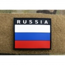 JTG - Russland Flagge - Patch, fullcolor / 3D Rubber patch