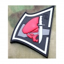 JTG - Rebell Skull Patch, fullcolor / 3D Rubber patch