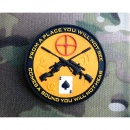 JTG - Sniper Patch, orange / 3D Rubber patch