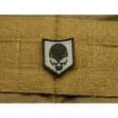 JTG - SOF Skull Patch, blackghost-gid (glow in the dark)...