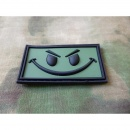 JTG - Evil Smiley Patch, forest / 3D Rubber patch