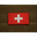 JTG - Schweizer Flagge - Patch, fullcolor / 3D Rubber patch