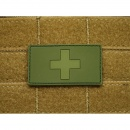 JTG - Schweizer Flagge - Patch, forest / 3D Rubber patch