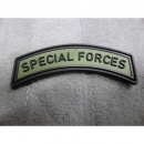 JTG - Special Forces Tab - Patch, forest / 3D Rubber patch