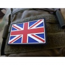 JTG - UK Flagge - Patch, fullcolor / 3D Rubber patch