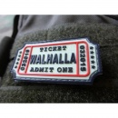 JTG - Walhalla Ticket Patch, gid (glow in the dark) / 3D...