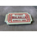 JTG - Walhalla Ticket Patch, multicam / 3D Rubber patch