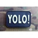 JTG - YOLO (You Only Live Once) Patch, gid (glow in the...