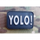 JTG - YOLO (You Only Live Once) Patch, swat / 3D Rubber...