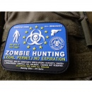 JTG - Zombie Hunting Patch / 3D Rubber patch