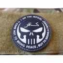 JTG  THE INFIDEL PUNISHER Patch, swat / JTG 3D Rubber Patch