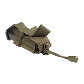 9mm Backward Flap Mag Pouch, RAL7013
