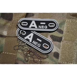 JTG - Blutgruppen Dog Tags, swat A Neg