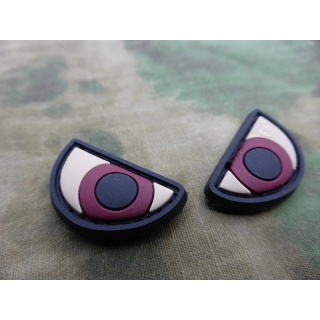 JTG  Angry Eyes Patch Set, fullcolor / JTG 3D Rubber Patch