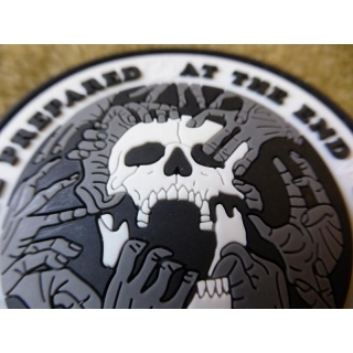 JTG  AT THE END Patch, special edition / JTG 3D Rubber Patch