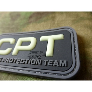 JTG  CPT - Close Protection Team / Personenschutz - Patch, gid / JTG 3D Rubber Patch