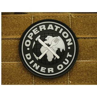 JTG - Operation Diner Out Patch, swat / 3D Rubber patch