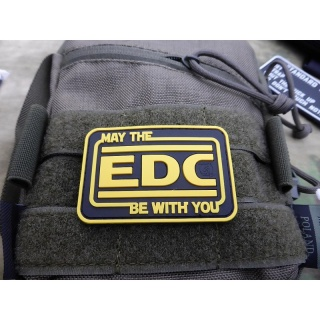 JTG  EDC / Every Day Carry Patch, fullcolor / JTG 3D Rubber Patch