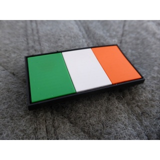 JTG - Irland Flagge - Patch / 3D Rubber patch
