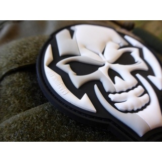 JTG  GEARJUNK SKULL Patch / JTG 3D Rubber Patch