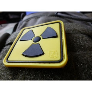 JTG - H3 Radioaktiv Patch, fullcolor / 3D Rubber patch