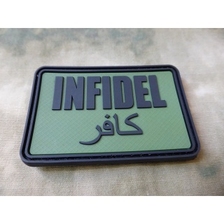 JTG - Infidel Patch Groß, forest / 3D Rubber patch