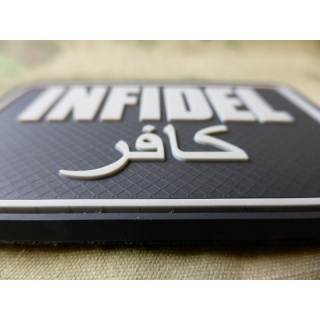 JTG - Infidel Patch Groß, swat / 3D Rubber patch