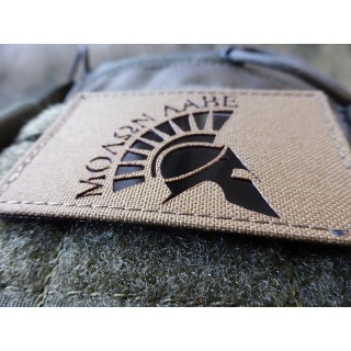 JTG MOLON LABE HELMET, coyote brown / Infrarot Patch - Cordura Lasercut, MILSPEC IR TAB, custom made