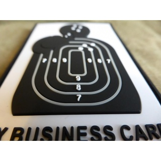 JTG  Business Card Patch, fullcolor / JTG 3D Rubber Patch