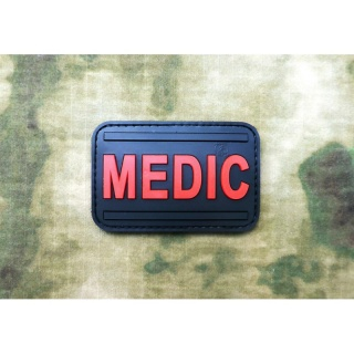 JTG - Medic Patch, blackmedic / 3D Rubber patch