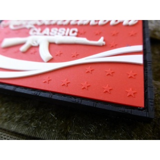 JTG  RED CLASSIC Patch  / JTG 3D Rubber Patch