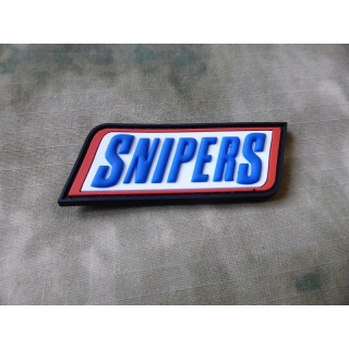JTG SNIPERS patch, fullcolor / 3D Rubber Patch
